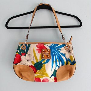 Relic Tropical Floral Hobo Bag Purse
